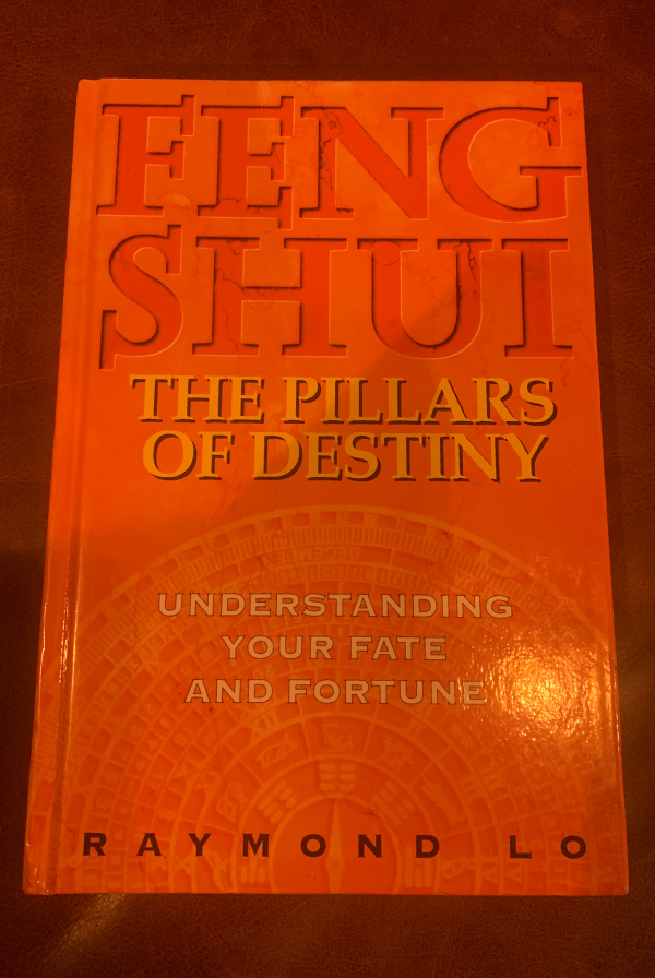 feng shui book cover - the pillars of destiny